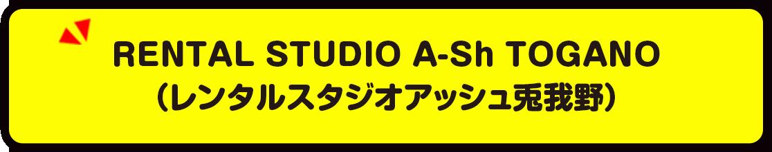 RENTAL STUDIO A-Sh TOGANO(レンタルスタジオアッシュ兎我野)